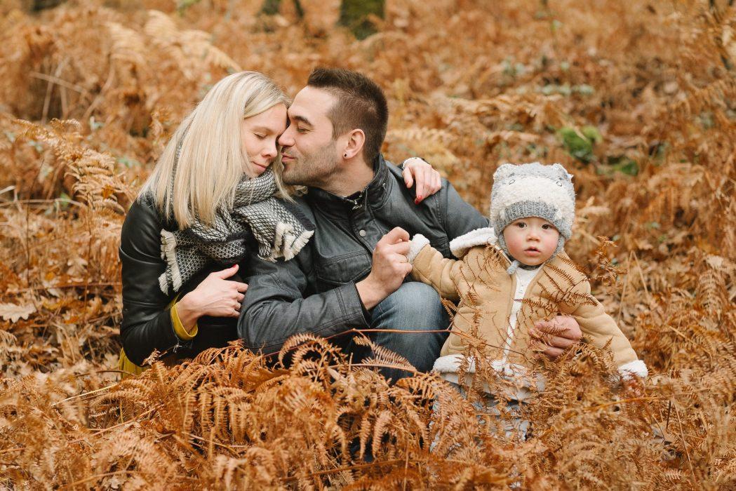 Sesion de fotos de familia en otoño